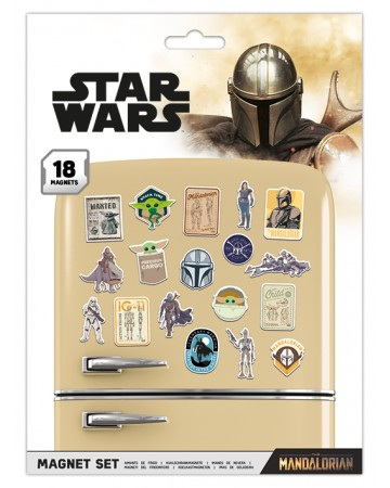 Star Wars : The Mandalorian - Set 18 aimants