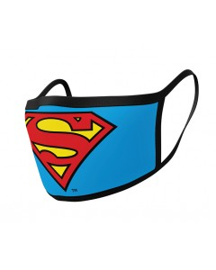 DC Comics - Set de 2 masques Superman Logo - ADULTE
