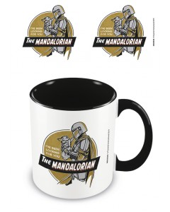 Star Wars : The Mandalorian - Mug I've Been Looking For You (intérieur vert)