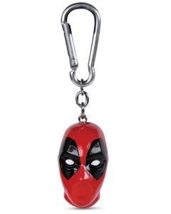 Marvel - Porte-clé mousqueton 3D Deadpool