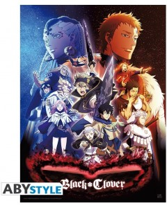Black Clover - Poster Groupe 52 x 38 cm
