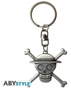 One Piece - Porte-clé 3D Jolly Roger Skull