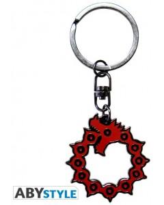 The Seven Deadly Sins - Porte-clé métal Emblème