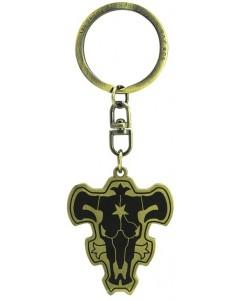 Black Clover - Porte-clé métal Emblème Taureau Noir