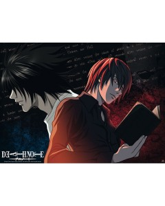 Death Note - poster L VS Light (52 x 38 cm)