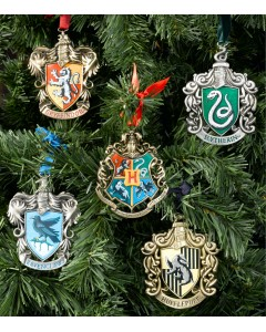 Harry Potter - Set ornements de sapin de Noël Hogwarts