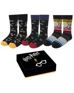 Harry Potter - Set de 3 paires de chaussettes 40/46