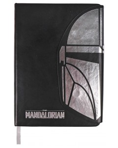 Star Wars : The Mandalorian - Carnet A5 faux cuir Mando