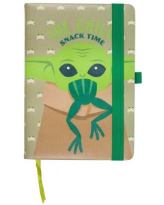 Star Wars : The Mandalorian - Carnet A5 faux cuir The Child Frog