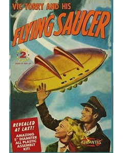 Model kit Vic Torry's Flying Saucer