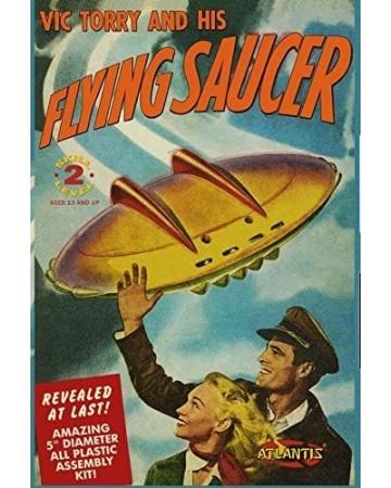 Model kit Vic Torry's Flying Saucer