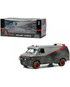 The A-Team - 1/24 1983 GMC Vandura Weathered with Bullet Holes
