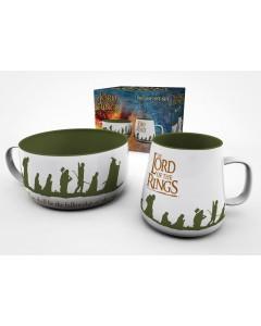 Lord of the Rings - Set petit déjeuner Fellowship
