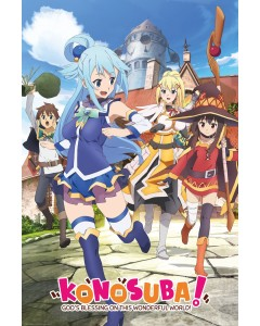 KonoSuba - grand poster Key Art (61 x 91,5 cm)