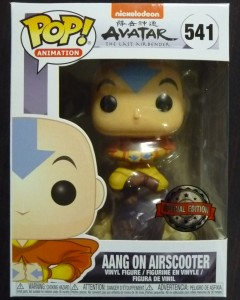 Avatar The Last Airbender - Pop! - Aang on Airscooter n°541