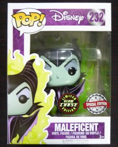 Disney Pop! - Maleficent n°232 (Maléfique) Flames CHASE