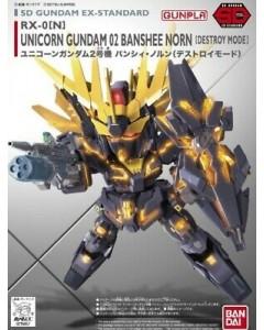 Gundam - SD EX-Standard Unicorn Gundam 02 Banshee Norn