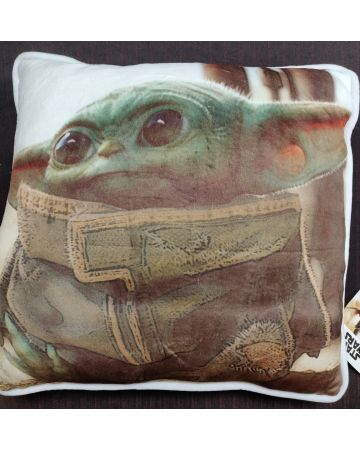 Star Wars : The Mandalorian - Coussin carré The Child