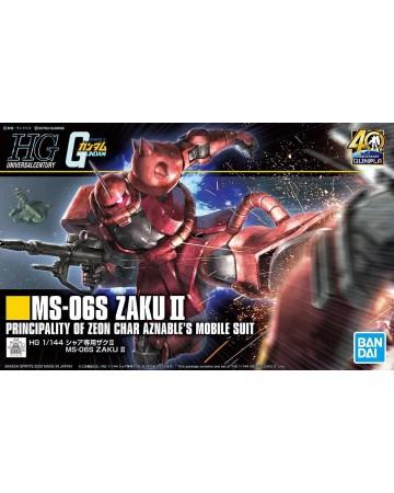 Gundam - HGUC 1/144 MS-06S ZAKU II