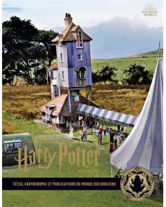 La collection Harry Potter au cinéma - Tome 112 : Fêtes, gastronomie et publications du monde des sorciers