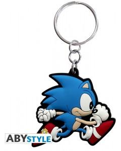 Sonic - Porte-clé en PVC Sonic Run