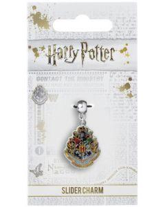 Harry Potter - Breloque plaqué argent Hogwarts