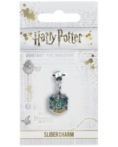 Harry Potter - Breloque plaqué argent Slytherin
