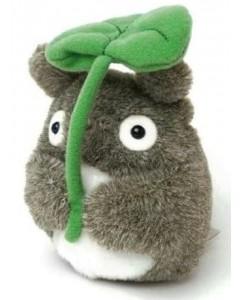 Mon voisin Totoro - peluche bean bag Totoro & feuille (13 cm de haut)