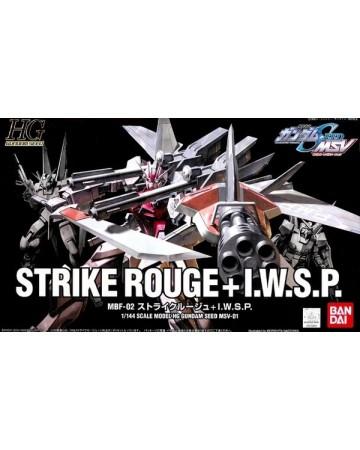 Gundam - HG 1/144 MSV Strike Rouge + IWSP Gundam Seed