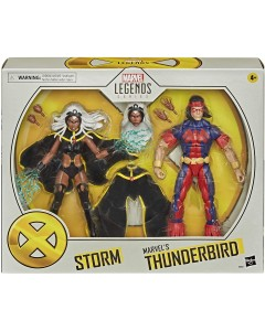 Marvel Legends - Figurines Storm et Marvel's Thunderbird 15 cm