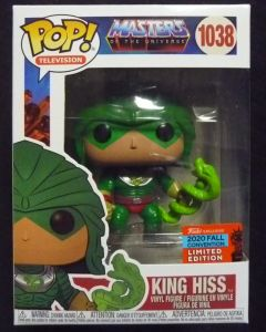 Masters of the Universe - Pop! MOTU - King Hiss NYCC n°1038