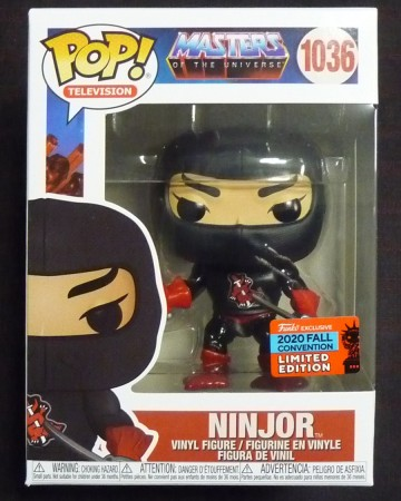 Masters of the Universe - Pop! MOTU - Ninjor NYCC n°1036
