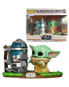 Star Wars : The Mandalorian - Pop! - The Child (Baby Yoda) w/ canister n°407