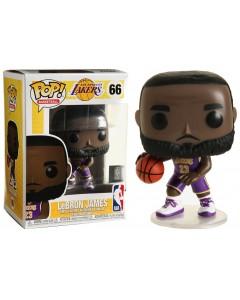 NBA - Pop! Basketball - Lakers Uniform Lebron James n°66