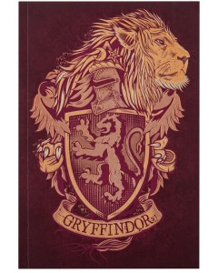 Harry Potter - Carnet 128 pages Gryffindor