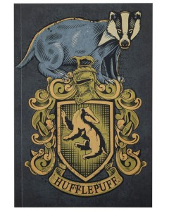 Harry Potter - Carnet 128 pages Hufflepuff