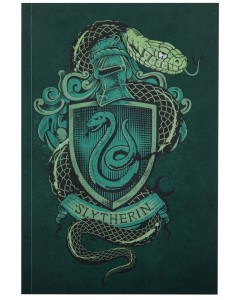 Harry Potter - Carnet 128 pages Slytherin