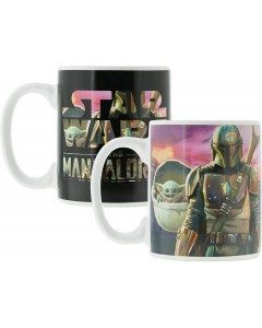 Star Wars : The Mandalorian - Mug thermo-réactif Mando & The Child