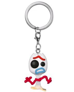 Pixar - Pop! Pocket - Toy Story 4 - porte-clé Forky exclusive