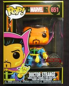Marvel Pop! - Black Light Doctor Strange exclusive n°651