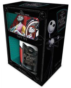 Nightmare Before Christmas - Set Mug + sous-verre + porte-clé