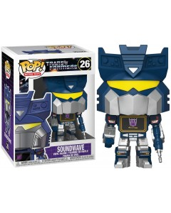 Transformers - Retro Toys - Pop! - Soundwave n°26