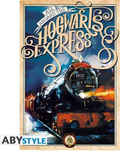 Harry Potter - Poster Retro Hogwarts Express (61 x 91,5 cm)