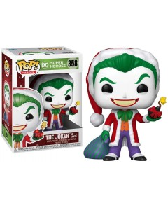 DC Comics - Pop! - Xmas Holiday The Joker as Santa n°358