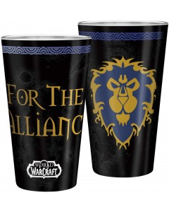 World of Warcraft - Grand verre 400 ml Alliance