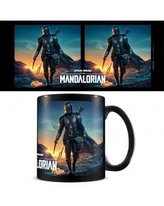 Star Wars : The Mandalorian - Mug Nightfall (intérieur noir)