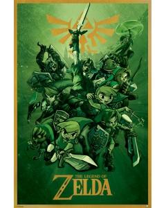 Legend of Zelda - Grand poster Link (61 x 91,5 cm)