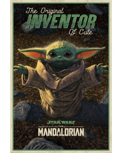 Star Wars : The Mandalorian - grand poster The Child Inventor of Cute (61 x 91,5 cm)