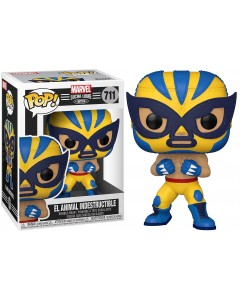 Marvel - Pop! Lucha Libre - Wolverine El Animal Indestructible n°711