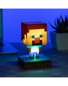 Minecraft - Lampe veilleuse Steve 11 cm